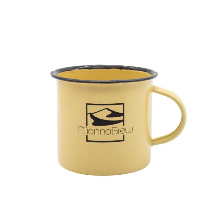 MannaBrew Enamel Mug - Yellow