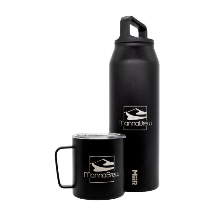 MannaBrew Miir 42oz Bottle & Camp Cup